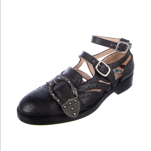 bc4874891 Gucci Shoes | Calfskin Womens Queercore Brogue | Poshmark